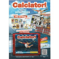 Packet Calciatori Promo Edition CalcioRegali Panini 2019 with flayer